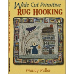 Wide Cut Primitive Rug Hooking