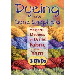 Dyeing with Gene Shepherd - DVD Set