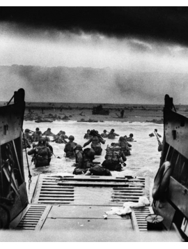 D Day Art Print- A Soldiers View